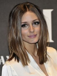 Olivia Palermo also with a long bob. looks great! Long Bob Haircuts, Long Bob Hairstyles, Pretty Hairstyles, Hairstyle Ideas, Medium Haircuts, Hair Ideas, Inverted Hairstyles, Layered Hairstyles, Style Hairstyle