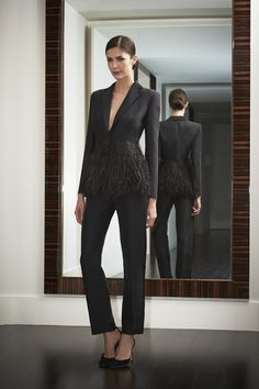 Beautiful jacket! Night Collection Shot 16 #carolinaherrera #nightcollection
