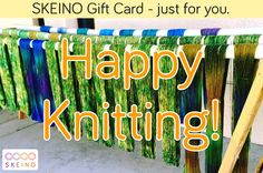 Sometimes it's just about a #happyknitting <https://www.facebook.com/hashtag/happyknitting> <3   Gift Cards are always an option if you want to make a knitter happy but you don't know which yarn is the right one ;-)