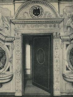 Флоренция. Дверной проем ризницы. Церковь Санта Аннунциата / 2