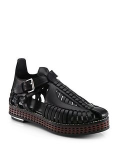Designer sandals perfect for the summer and for your feet!? What could be better? #QBlog #ProenzaSchouler #Fashion