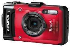 Olympus Stylus Tg-2 Tough Camera - Red