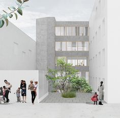 NP2F Architectes_paris 5 logements