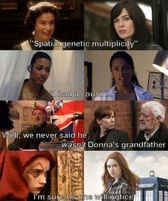 I just knew it with Martha! & Donna's grandfather too. Oh Wilfred, he's such a cute old man...