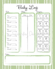 Pumping And Nursing  A Working MomS Routine  Pdf Template And Logs