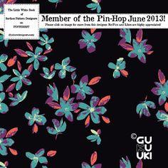 Gukuuki Studio: Pattern Design Pin-hop 2013