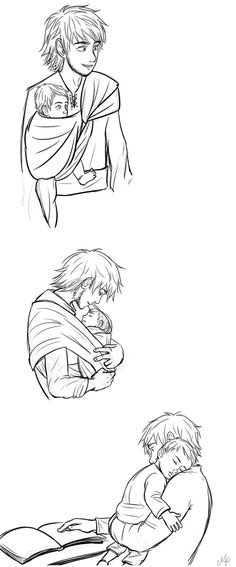 Daddy hiccup by Mikki05 on DeviantArt #Hiccstrid ^.^ ♡