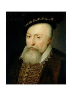 Art Print: Portrait of Robert Dudley, Earl of Leicester by Jan Antonisz van Ravesteyn : 24x18in