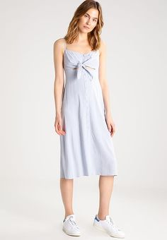Topshop MOLLY - Robe chemise - light blue - ZALANDO.FR