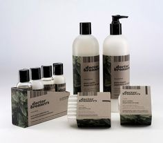 Dr Bronner's liquid soap, lotion, bar soap, body balm, and 4 pack sampler of shampoo, conditioner, soap, and lotion.