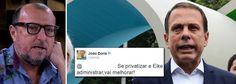 Jornalista Xico Sá criticou o prefeito de São Paulo, João Doria (PSDB), por ter apagado tweets em que tece elogios ao empresário Eike Batista, preso pela Polícia Federal nessa segunda-feira, 30, ac…