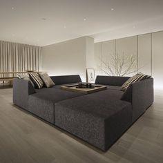 Unique Furniture, Sofa Furniture, Luxury Homes Interior, Interior Architecture, Contemporary Interior, Modern Interior Design, Sofa Upholstery, Hotel Interiors, Apartment Design