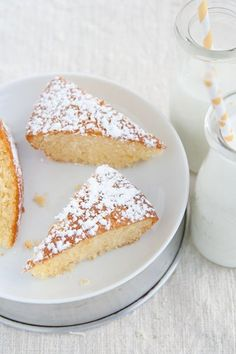 Ricetta Torta light all'acqua, senza uova e latticini - Labna