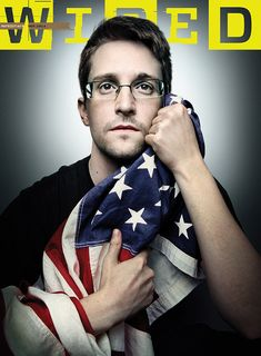 Edward Snowden by Platon for Wired Magazine