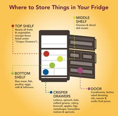 Infographic ~ Food-Storage-Guide