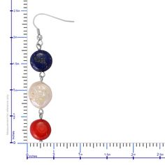Lapis Lazuli, Keshi Pearl, Coral Earrings and Necklace (22-24 in) in Stainless Steel TGW 50.000 cts.   Luxury Jewelry   Promotions   Online Store   Liquidation Channel Site