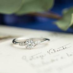ダイヤモンド/エンゲージリング:Onda(オーンダ)  [diamond,ダイヤモンド,Platinum ,Pt900,ウエディング,wedding]
