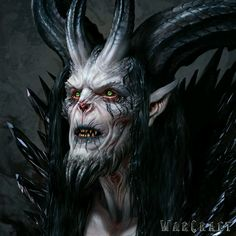 The Art of Warcraft Film - Medivh, Wei Wang Warcraft Film, Warcraft Art, Dark Fantasy Art, Fantasy Artwork, Dark Art, Ange Demon, Demon Art, Arte Horror, Horror Art