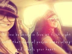 In love. #lesbian #love