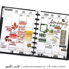 two BIG Happy Planners™- one #beforethepen, prepped for ...