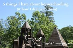 5 things I hate about homeschooling ~SimpleHomeschool.net