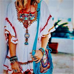 Bohemian Dresses And Clothing Ideas (55)