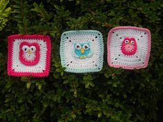 366 granny's Project 2012. Link to pattern in Dutch!