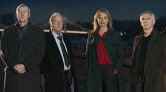 "The new ""lineup"" from New Tricks. What I have seen from the new people is wonderful. Turning Pages, World News Headlines, Bbc One, Mystery Books, Old Dogs, New Tricks, Lineup, Detective, Crime"