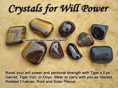 Crystals for Willpower