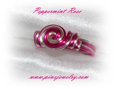 SALE Peppermint Rose Custom Ring by Pinx Jewelry by pinxjewelry, $14.95