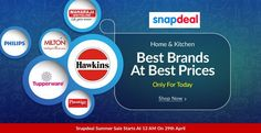 Home and Kitchen Best Brands At Best Prices Only For Today great deal on http://goosedeals.com/home/details/snapdeal/145093.html
