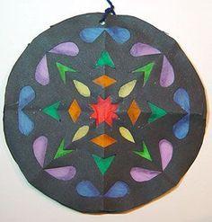 radial symmetry, positive/negative space