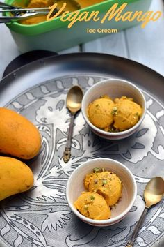 This creamy Vegan Mango Ice Cream has only three ingredients and no added sugar. Make sure you use sweet ripe mangoes and you will not miss the sugar in this summer treat! Ripe sweet mangoes, the fragrance of them calls out to you to devour them. Even though the mangoes here in the US are...Read More »