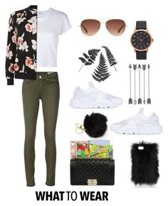 """""""What to wear"""" by dem-hinds on Polyvore featuring rag & bone/JEAN, Stella & Dot, Marc Jacobs, RE/DONE, New Look, Chanel and NIKE"""