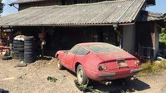 Ferrari Daytona barn find 3
