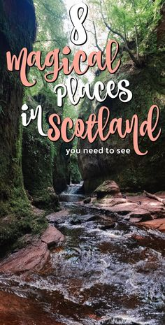 Must-see places in Scotland for you to check out. These 8 magical places in Scotland are definitely worth seeing on your next Scotland trip. Scotland Vacation, Scotland Trip, Scotland Travel, Visiting Scotland, Ireland Travel, Scotland Tourist Attractions, Visit Edinburgh, Edinburgh Scotland, Places In Scotland