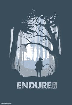 The Last of Us Poster Series by Brandon Meier, via Behance