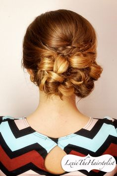 Wedding, Prom, And Special Occasion updo!