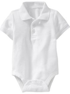 Pique-Polo Bodysuits for Baby   Old Navy