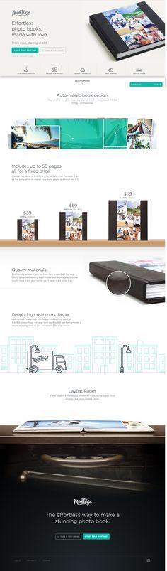 Unique Web Design, Montage @mirkopacitti #WebDesign #Design (http;//www.pinterest.com/aldenchong/)