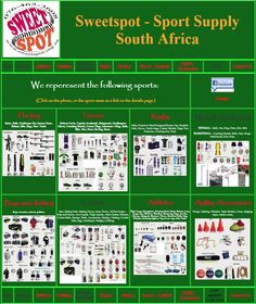 Sweetspot is a sports equipment supplier that supplies a large range of sports. Netball, Sports Equipment, Athletics, Rugby, Cricket, Hockey, Type, Chain