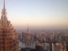 Shanghai Best Cities, Shanghai, San Francisco Skyline, Paris Skyline, Jars, Landscapes, China, House Styles, Blue