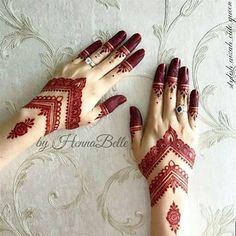 Henna Tattoo Designs Simple, Finger Henna Designs, Henna Art Designs, Mehndi Design Pictures, Modern Mehndi Designs, Mehndi Designs For Girls, Mehndi Designs For Beginners, Wedding Mehndi Designs, Beautiful Henna Designs