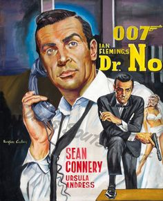 Dr No james bond movie poster painting by SpirosSoutsos on DeviantArt