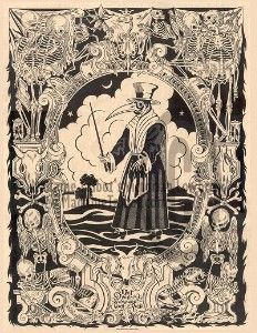 The Black Death Plague Doctor