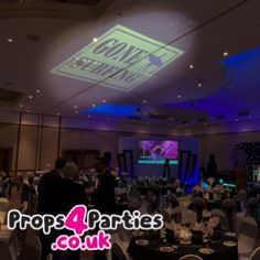 New to the range is our giant Hawaiian Themed Gobo Projector.  It can project an image as big as 5m x 5m onto any wall! Transforming a boring, blank space into a great talking point for the night. Choose from a selection of iconic themed images or we can even personalise images to suit your event. Our Gobo projectors are different and versatile. You can enlarge or reduce the image to suit each individual party room. Party Props, Party Themes, Hawaiian Cocktails, Colorful Umbrellas, Blue Hawaiian, Blank Space, Party Venues, Projectors, Beach Party