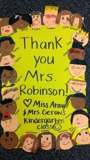 Room Mom Thank You Poster Donors Choose Ideas Teacher