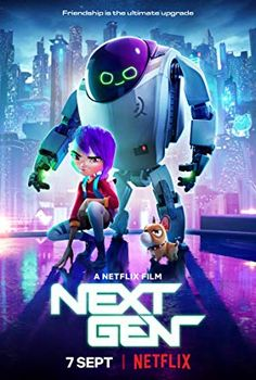 Watch Next Gen full hd online Directed by Kevin R. With John Krasinski, Charlyne Yi, Jason Sudeikis, Michael Pea. A friendship with a top-secret robot turns a lonely girl' Netflix Movies For Kids, Films Netflix, Films Hd, Hd Movies Online, 2018 Movies, New Movies, Movies To Watch, Good Movies, Popular Movies
