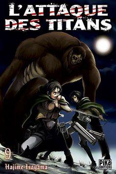 Couverture L'attaque des Titans, tome 09