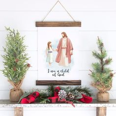 """LDS Paintings and Portraits on Instagram: """"5/7- I am grateful for a Heavenly Father who loves me. #givethanks"""" Watercolor Print, Watercolor Paintings, Jesus Christ Painting, I Am Grateful, Heavenly Father, Before Christmas, Handmade Art, Paper Texture, Printables"""